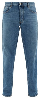 Jeanerica Jeans & Co. - Lm009 Cotton-blend Tapered-leg Jeans - Mens - Denim