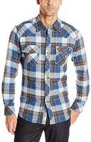 Dickies Men's Regular Fit Western Flannel Shirt
