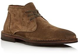 John Varvatos Men's Portland Suede Chukka Boots