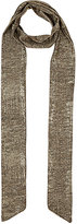 Barneys New York WOMEN'S METALLIC SCARF