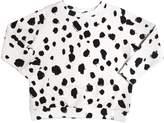 Dots Printed Organic Cotton Sweatshirt