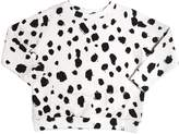 Popupshop Dots Printed Organic Cotton Sweatshirt