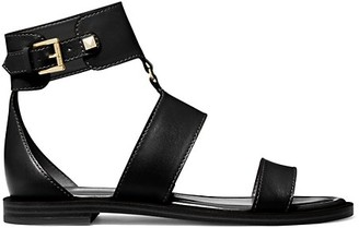 MICHAEL Michael Kors Amos Leather Gladiator Sandals