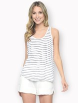 Splendid Catalina Stripe Crossback Tank