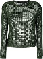 Aspesi fishnet jumper - women - Cotton - 40