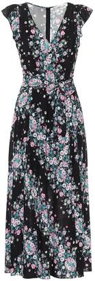 Diane von Furstenberg Isla floral wrap dress