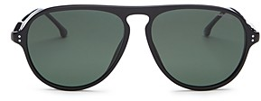 Carrera Men's Polarized Brow Bar Aviator Sunglasses, 67mm