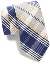 Tommy Hilfiger Silk Big Plaid Tie