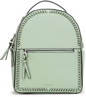 CalPak Kaya Faux Leather Round Backpack