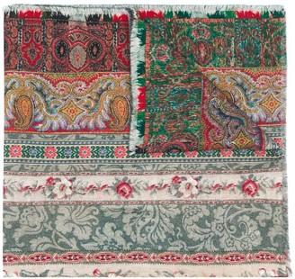 Pierre Louis Mascia Pancake floral-print wool scarf