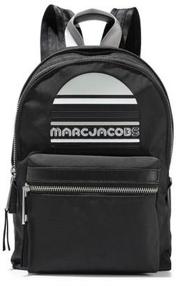 Marc Jacobs Trek Embellished Leather-trimmed Shell Backpack