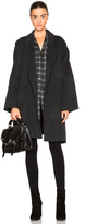 Helmut Lang Double Face Wool Cape