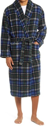 Majestic International Power Plaids Plush Robe