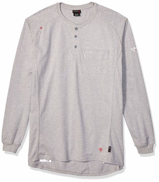 Ariat Men's Men's Big and Tall Flame Resistant Air Henley