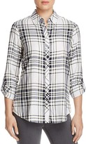 Foxcroft Addison Plaid Button-Down Shirt