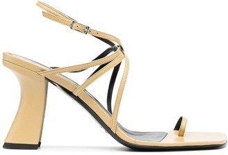 BY FAR Strappy Slingback Sandals