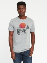 Old Navy Soft-Washed Bear-Graphic Tee for Men