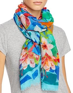 Echo Tropical Floral Wrap