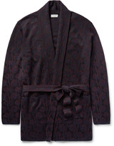 Dries Van Noten - Milton Jacquard-knit Merino Wool-blend Cardigan