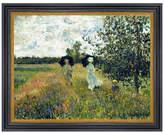 Munn Works Monet - Promenade Near Argenteuil - 1873 Art