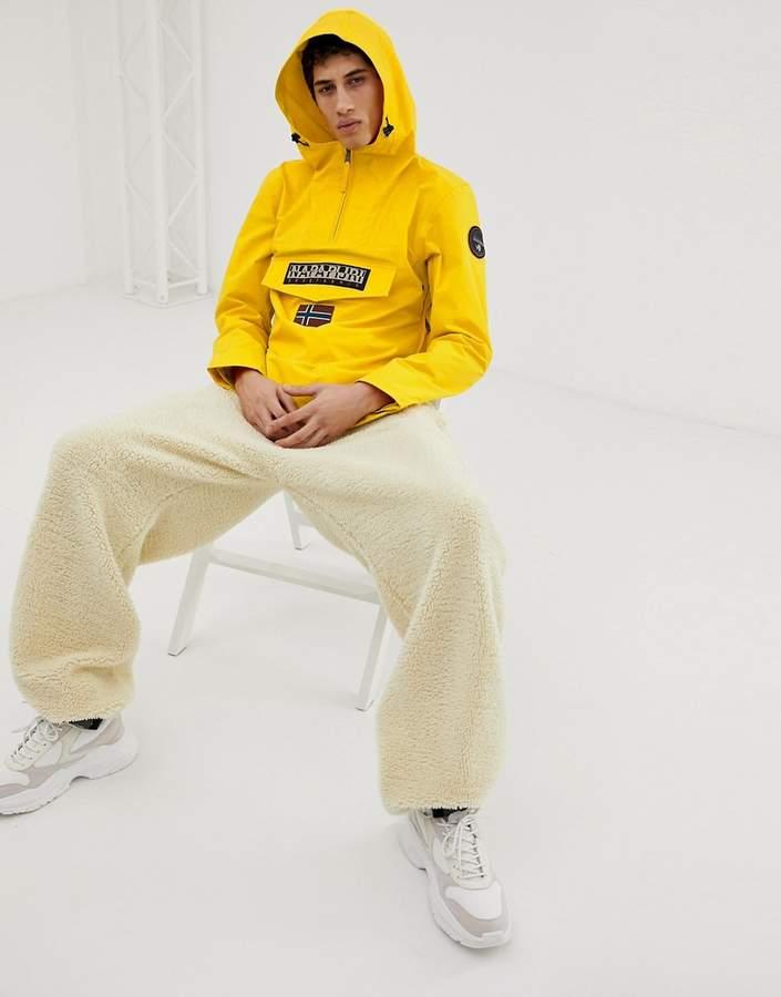 95302631c Rainforest jacket in yellow