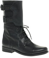 Flat Worker Boots
