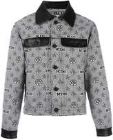 Kokon To Zai monogram print shirt jacket