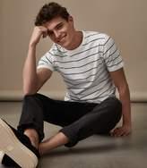 Reiss Broomhall Fine Striped T-Shirt