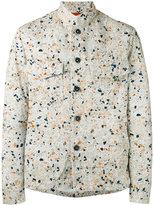 Barena Broken Print shirt jacket - men - Cotton/Spandex/Elastane - 46
