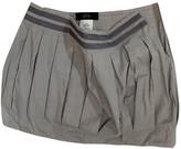 Mauro Grifoni White Cotton Skirt for Women