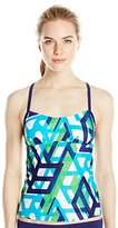 adidas Women's Diamond Gradient Print Tankini