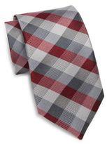 Saks Fifth Avenue Silk Tri-Color Tie