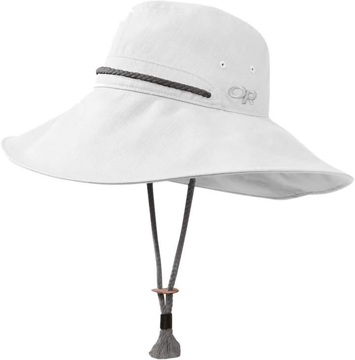 6c107fe0 White Cotton Sun Hat - ShopStyle