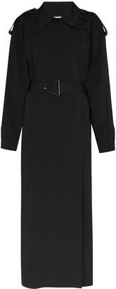 Bottega Veneta Long Belted Trench Coat