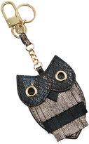 Neiman Marcus Golden Owl Key Chain, Multi