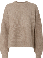 Helmut Lang Textured Beige Sweater