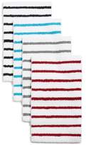 "Charter Club Elite Stripe 19.3"" x 30.0"" Fashion Bath Rug, Created for Macy's"