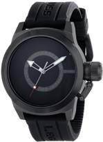 Swiss Legend Men's 10543-BB-01BLK Submersible Analog Display Swiss Quartz Watch