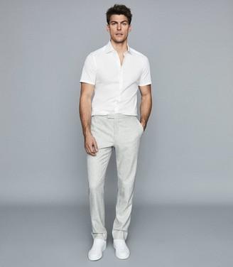 Reiss Redmayne - Short Sleeved Shirt in White