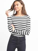 Gap Stripe long sleeve modern boatneck