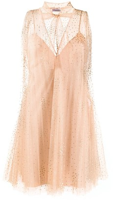 RED Valentino tulle point d'esprit dress