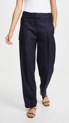 Victoria Victoria Beckham Side Tie Trousers