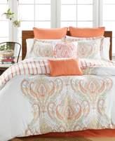 enVogue Jordanna Coral 8-Pc. Queen Comforter Set