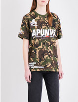 AAPE Camouflage-patterned cotton-jersey T-shirt