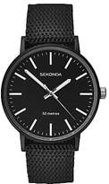 Sekonda Reversible Nylon Fabric Strap Watch