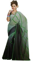 ibaexports Indian Printed Saree Georgette Sari Indian Ethnic Fashion Sarees Wedding Wear