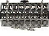 Radiant Cut crystal-embellished clutch