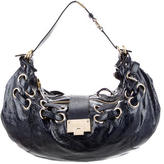 Jimmy Choo Venice Leather Ramona Hobo Bag