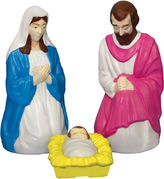 JCPenney General Foam Plastics 3-pc. Outdoor Christmas Nativity Set