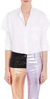 Haider Ackermann Women's Hand-Smocked Cotton Poplin Shirt